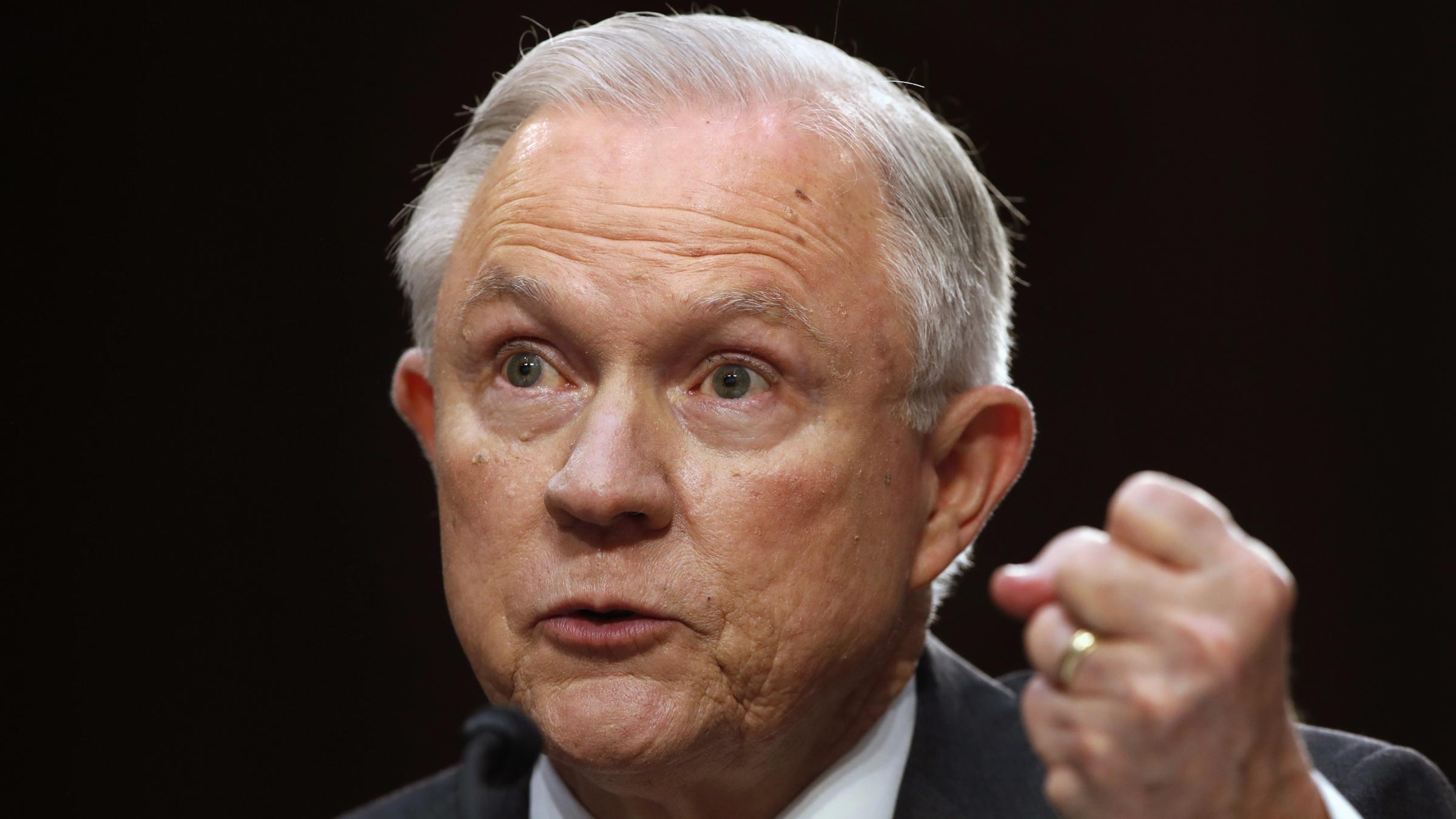 Jeff Sessions: 'Absolutely False' He Communicated with Russians as Trump Campaign Surrogate